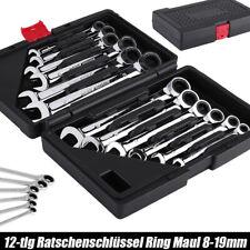 Set chiavi combinate a cricchetto Set di chiavi a cricchetto da 12 pezzi, nuovo