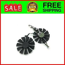 Pair 87MM Cooler Fan For GTX1060 1070 Ti RX 470 570 580 Graphics Ca