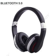 Kopfhörer Bluetooth 5.0 Kopfhrer On-Ear Earphones Bass TF MP3 Headset mit Mic