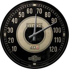 Harley-Davidson Uhr Logo Werkstatt & Garage Deko Dealer Shop Tacho design *012
