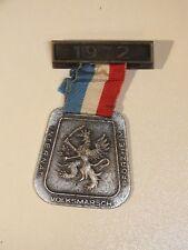 Médaille souvenir International Volksmarsch Pforzheim 1972 - 3° Hussards