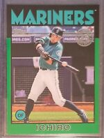 Ichiro 2021 Topps Series 1 1986 Green Parallel - Seattle Mariners
