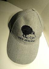 New Zealand Kiwi Grey Hat / Cap