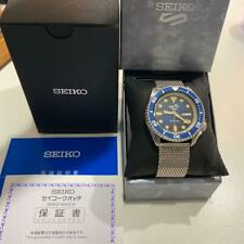 Seiko 5 Sports Day Date Box 24 Jewels Automatic Mens Watch Authentic Working