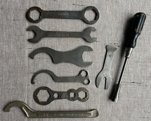 VINTAGE BICYCLE / MOTORCYCLE BIKE SPANNERS Incl. TRIUMPH