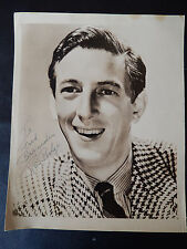"Ray Bolger Autographed 8"" X 10"" Photograph from Estate"