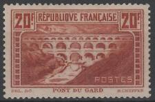 "FRANCE STAMP TIMBRE N° 262 "" PONT GARD 20F CHAUDRON TYPE IIB "" NEUF xx TTB N455"