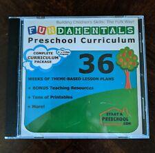 Fundamentals Preschool Curriculum CD