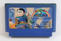 Rainbow Island Nintendo FC Famicom NES Japan Import US Seller F2327