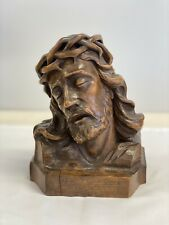 Carved Christ – Signed – Circa 1910