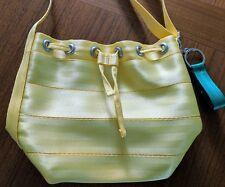 Harveys Seatbelt Bags Lemon Mini Bucket, mini park hopper, yellow