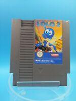 jeu video super nintendo nes loose BE FRA adventures of lolo 2