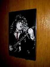 Angus Young Wall PLaque