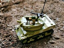 WWII US 75 mm Howitzer Motor Carriage M8 Tank World War 2 II WW2 USA MOC vehicle