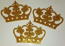 "3"" Baby Shower Crown foam decoration Prince/ Princess (30 pcs)"