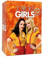 2 Broke Girls Season 1 2 3 4 5 6 Complete Series 1-6 DVD BOX SET BRAND NEW