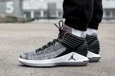 MENS NIKE AIR JORDAN XXXII MVP ,,BLACK CEMENT'' SIZE 6 EUR 40 (AA1253 002)