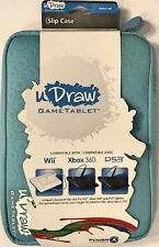 uDraw Game Tablet Slip Case Blue also compatible Wii, Xbox 360 and Ps3 Brand New