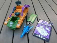 Transformers G1 Micromasters Anti-Aircraft Base 100% complete in great condition