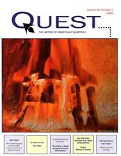 Quest History of Spaceflight magazine - 4 issues - Vol 16
