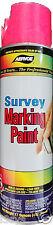 Aervoe Survey Grade Fluorescent Pink Inverted Marking Paint