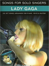 Songs for Solo Singers - Lady Gaga BK/CD, New, Lady Gaga Book
