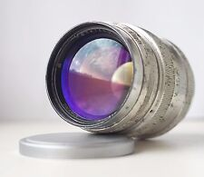 1959! Jupiter-9 2/85mm Silver RF Telephoto lens Sonnar copy M39 for Leica Zorki