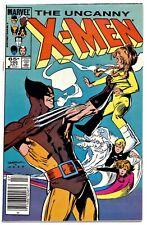 UNCANNY X-MEN #195(7/85)POWER PACK/WOLVERINE(SIENKIEWICZ-C)NEWSSTAND(CGC IT)9.0!