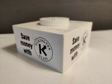 Vtg Retro Pilkington Glass Thermostat Novelty Plastic Money Box Square 12cm