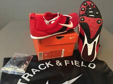 ee7cd77ac04d NIB Mens Nike ZOOM Miler Track   Field Track Spikes (307202) Red   Black
