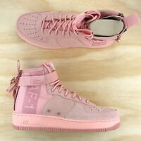 Nike SF AF1 Special Field Air Force One Mid Suede Pink Coral [AJ9502 600] Size