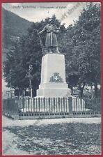 SONDRIO PONTE IN VALTELLINA 06 MONUMENTO ai CADUTI Cartolina viaggiata 1928