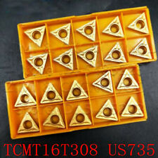 30Pcs TCMT16T304 TCMT32.51 735 Caride Inserts New