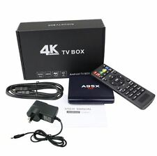 A95x Android 6.0 1Gb Ram Rockchip 4K Smart Tv Box Media Player Kodi installed UK