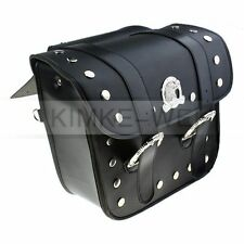 2x Motorcycle Saddlebags Saddle Bags Pouch for Harley