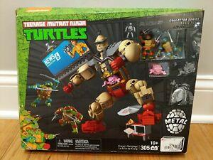 New MEGA BLOKS Teenage Mutant Ninja Turtles Krang's Rampage Collector Series Set
