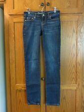 Aeropostale BAYLA SKINNY Stretchy Blue Jeans - Women's Size 2 - EXCELLENT!!