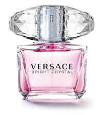 Versace Bright Crystal 3.0 Oz EDT Spray New Tester Perfume For Women With Cap
