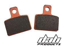 Pastillas de freno trasero ensayos de productos DAB para caber AJP Interior Tipo Pinza