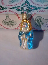 NEW~ Inge-Glas Old World German Glass Christmas Ornament Angel