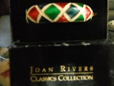 Joan Rivers Bracelet ENAMEL, NO STONE AND ROSE  GOLD PLATED