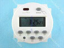CN101A LCD Digital Power Programmable Timer DC 12V Time Relay Switch