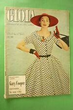 Joy 1956 Mode + Gary Cooper + Mike Bongiorno + Marisa Pavan + Jean Pierre Aumont