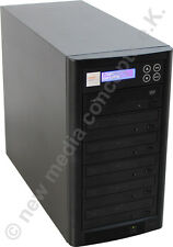 CD und DVD Kopierstation Kopiersysteme 1:5 mit LCD Display Copytower Brennturm