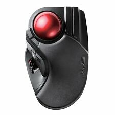 New Elecom Trackball mouse wireless large tapper M-HT1DRBK ●Free tracking●