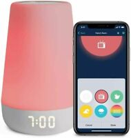 New! Hatch Rest+ Sound Machine Night Light Time-to-Rise Plus Audio Baby Monitor