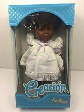 "Berjusa Creacion Tanya 18"" Toddler Doll African American Original Box Coa"