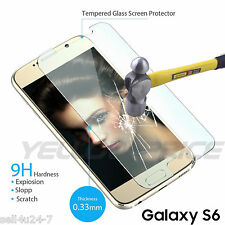 New Real Tempered Glass Screen Protector Film For All SAMSUNG Galaxy S 6 S6 S VI