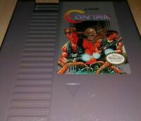 🎮💣🤜🤕TESTED🎉MINT CONDITION!💥CONTRA!🌟🔫🔪NINTENDO ENTERTAINMENT SYSTEM 1990