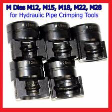 M Dies for Hydraulic Pipe Crimping Tools Jaws M12, M15, M18, M22, M28 PlumbingA8